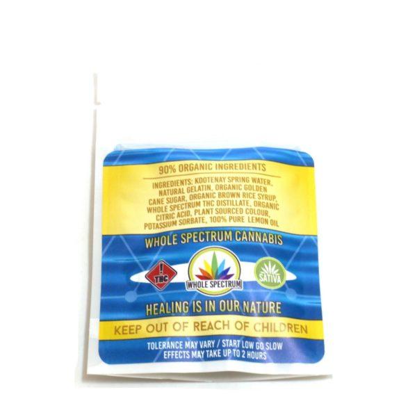 Kootenay Labs - THC Gummy Bars packs displayed on Phatnug Canada Online Weed Dispensary