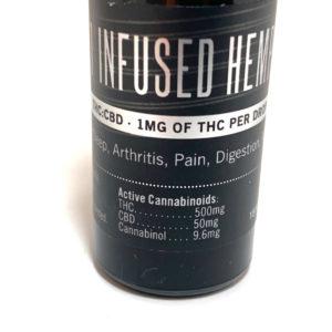 BC Trees – Infused Hemp Oil tincture displayed on Phatnug Canada Online Weed Dispensary