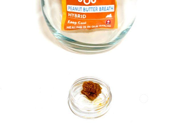 Kootenay Labs - Peanut Butter Breath Budder / Wax packets displayed on Phatnug Canada Online Weed Dispensary