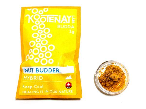 Kootenay Labs - Nut Budder Budder / Wax packets displayed on Phatnug Canada Online Weed Dispensary