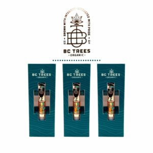 BC Trees Organic - THC / CBD Vape Cartridges - 500mg