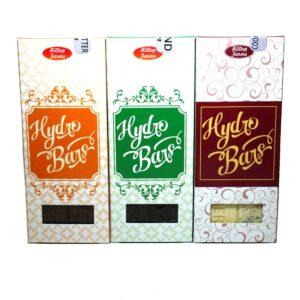 Hydro Bars THC Chocolate Bar - 500mg & 1000mg Peanut Butter, Almond, Cookies & Cream