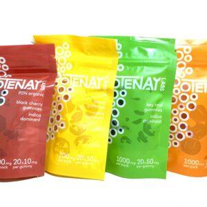Kootenay Labs - 20 Pack Gummies - 10mg & 50mg THC