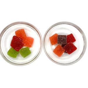 THC Burst Gummies - Sweet & Sour - Edibles - 408mg THC