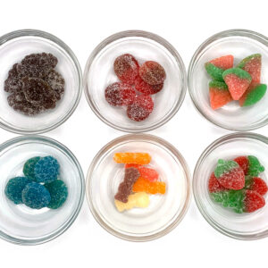 THC Infused Sour Gummies - Edible Gummies - 500mg THC